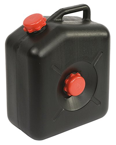 Plascon WW23L Abwassertank Tragbarer Camping Abwasserkanister, 23l, Schwarz
