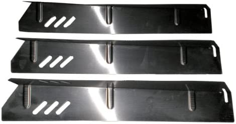 Set of 3 Heat Plates for Uniflame and Better Home and Gardens BBQ Grill GBC1273W BH12 101 001 product image