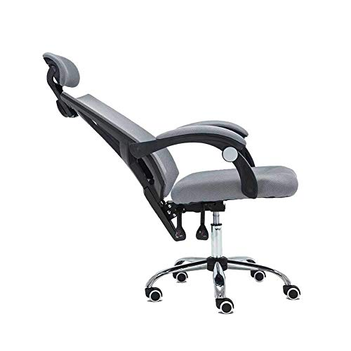 Living Equipment Ergonomischer Stuhl Büro Verstellbarer Stuhl Hohe Rückenlehne mit atmungsaktivem Netz Liegestuhl Drehstuhl Ergonomischer Sessellift Computer Home Atmungsaktiver Netzstab Bürostuhl
