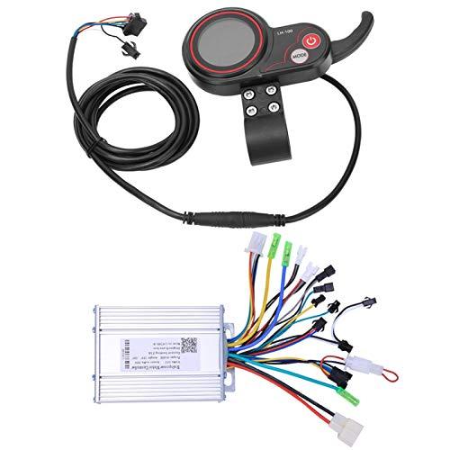 DAUERHAFT Controlador de Bicicleta eléctrica LH100, Temporizador para Dormir con LCD y...