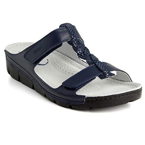 Batz BORI Licht en Flexibel Handgemaakte Hoogwaardige Lederen Sandalen Klompen Muilezels Slippers Schoenen Dames