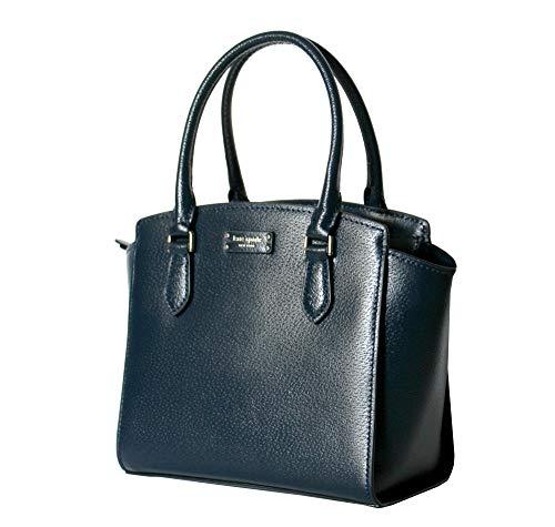 Kate Spade Jeanne Small Leather Women's Satchel Handbag WKRU6044 (Petrol Blue)