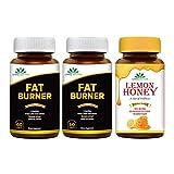 Quality Ayurveda Fat Burners for Extreme Loss 60 Tablets 1200 mg and 100% Natural and Pure Lemon...