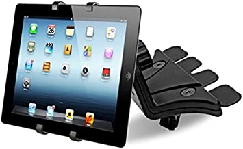 Universal Adjustable Tablet Mount for Car in Cd Slot 7-10.5 inch ipad Holder Samsung Galaxy Stand