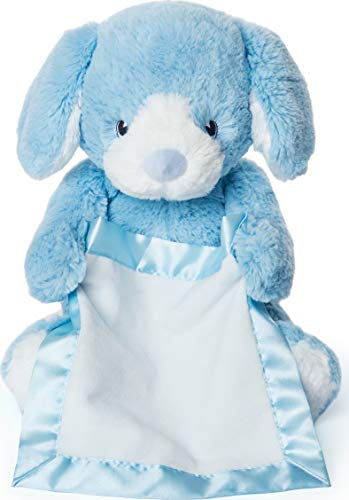 "Peek-a-Boo Furry Friends Animated Peek-a-Boo Puppy Plush, Blue, 10"" Now $10.45 (Was $15.00)"