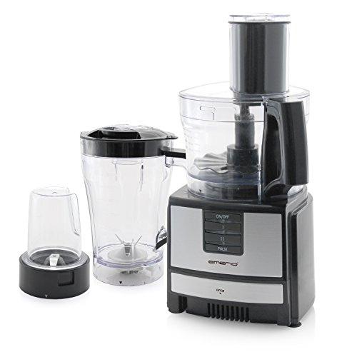 Emerio FP-109503 600W 1.2l Zwart - Transparant keukenmachine