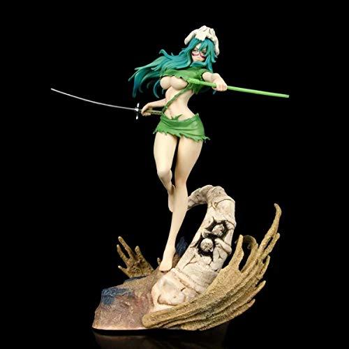 DMCMX Figur Bleach Neliel Tu Terschvank Szene Base Anime Spiel Charakter Modell Statische Charakter Desktop Dekoration Höhe Etwa 28cm Chassis Zimmer Dekoration
