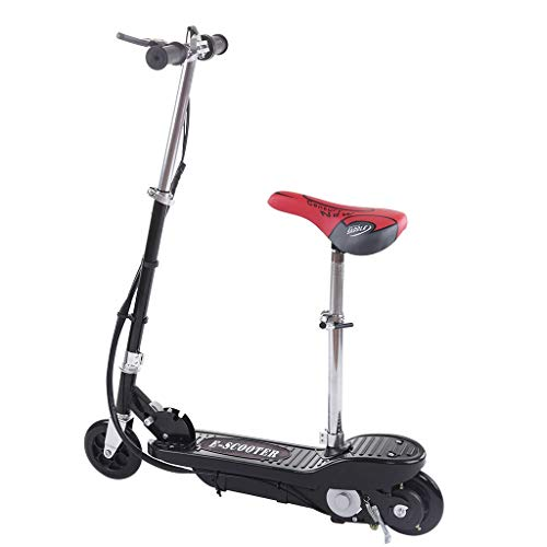 Electric Scooters for Adults Teens & Kids | Electric Scooter for Girls with Seat Foldable Rechargeable Seated Ultra-Lightweight | for Outdoor Commute