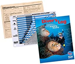 PADI eLearning Essentials, Log Book, RDP Recreational Dive Planner and Record File