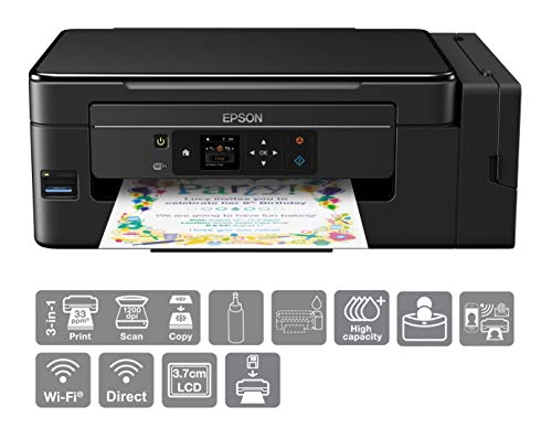 Epson EcoTank ET-2650 A4 Print/Scan/Copy Wi-Fi Printer