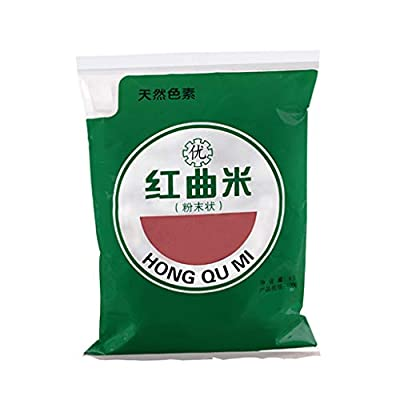 Healthy Food,454g Natural Red Yeast Rice Powder Monascus Purpureus Extract for Velvet Cake Coloring Pigment Baking Ingredients Food Supplements