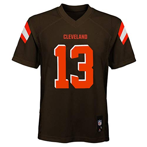 Odell Beckham Jr Cleveland Browns #13 Brown Youth Mid Tier Jersey (Large 14/16)