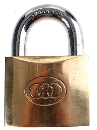 Tri-Circle hangslot 32 x 5 mm goud
