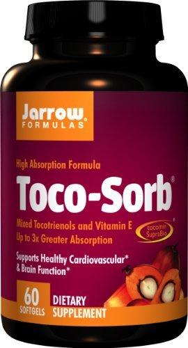 Jarrow Formulas Toco-Sorb Mixed Tocotrienols &Amp; Vitamin E (60 Softgels), 200 g