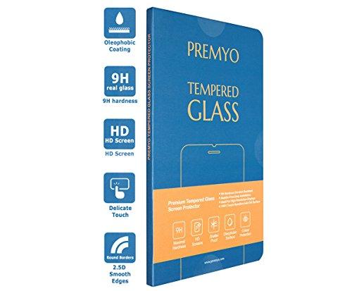 PREMYO 2 Stück Panzerglas Schutzglas Displayschutzfolie Folie kompatibel für Honor 5X Blasenfrei HD-Klar 9H 2,5D Gegen Kratzer Fingerabdrücke - 6