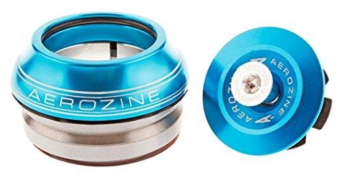 Aerozine Unisex Cabeza Juego 1anodizado Integrado 11/8'móvil, Azul, 11/8