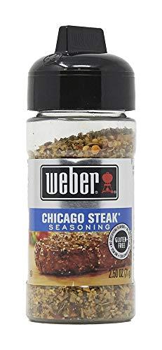 weber Grill Creations Chicago Steak Seasoning, 2.5 oz
