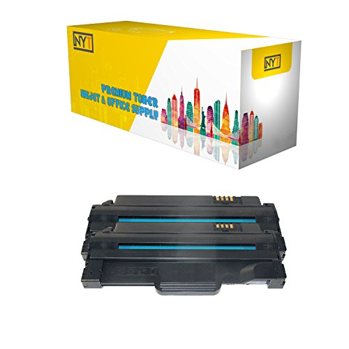 NYT Compatible High Yield Toner Cartridge Replacement for 330-9523 for Dell 1130,1133 (Black,2-Pack)