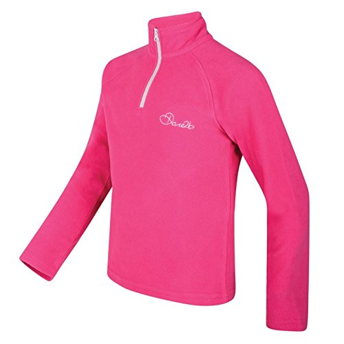 Dare 2b – Children's Freeze Jam II Mädchen Fleecepullover – Unisex Kinder XX-Small Cyber Rose