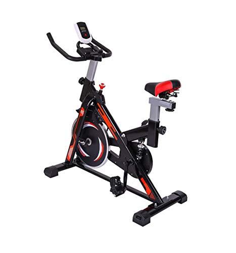 ZOUSHUAIDEDIAN Bicicletas de interior, correa de transmisión de interior con la bici de las bicis magnéticas ejercicio de resistencia bicicleta estacionaria, for el hogar ejercicio aeróbico Entrenamie
