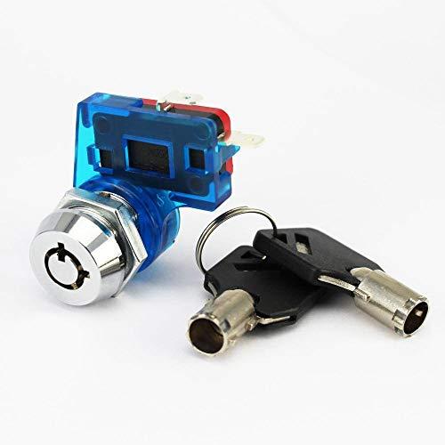 Cilindros de bloqueo Bloqueo de energía de alta potencia Bloqueo electrónico con bloqueo Interruptor de scooter abierto Interruptor de equilibrio del coche