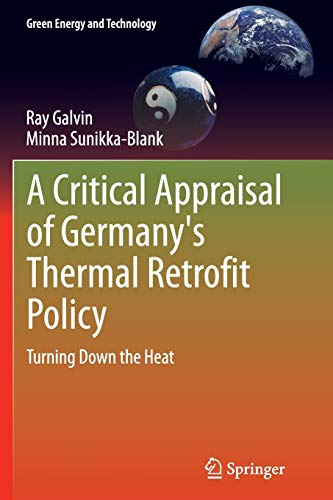 A Critical Appraisal of Germany's Thermal Retrofit Policy: Turning Down the Heat