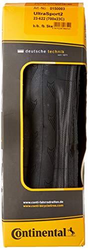 Continental Fahrradreifen Ultra Sport II 23 – 622, 0150003 - 2