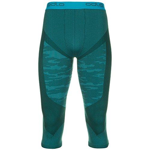 Odlo Blackcomb Evolution Warm caleçon 3/5 Homme XL Verde (Verde Turchese)