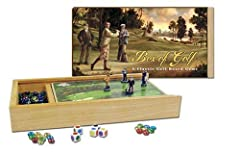 Combination of luck, strategy, and fun Hardwood box 9 2-sided boards 4 figurines glass gems and dice