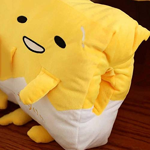 AGOOLZX Kawaii Hand Warmer Gudetama Lazy Egg Plush Pillow Blanket Staff Egg King Egg Yolk Brother Toy Doll Cute Soft Pillow Cushion Plush Sofa Seat Car Seat