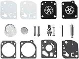 Poweka Carburateur Réparation Kit Membrane Joints pour ZAMA RB-29 Ryobi Homelite