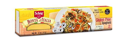 Schar Naturally Gluten-Free Spaghetti, 12-Ounce Packages (Pack of 5)