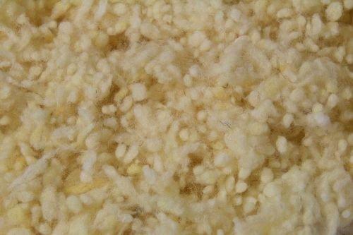 Fränkische Schlafmanufaktur 1kg Schafwollkügelchen kbT, Schafwolle, Wollkügelchen, Füllmaterial
