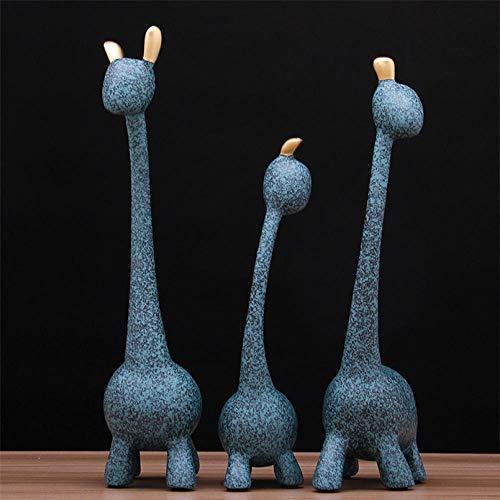 escultura jirafa de la marca