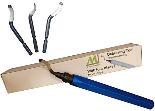 ML 3D Drucker Zubehör Entgrater-Werkzeug, perfekt geeignet für den Modellbau. Mit vier Klingen.