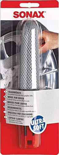 Sonax Brosse pour Jantes (1 Pièce) pour Un Nettoyage À Fond, Même des endroits Difficiles D'Accès   Réf: 04175410