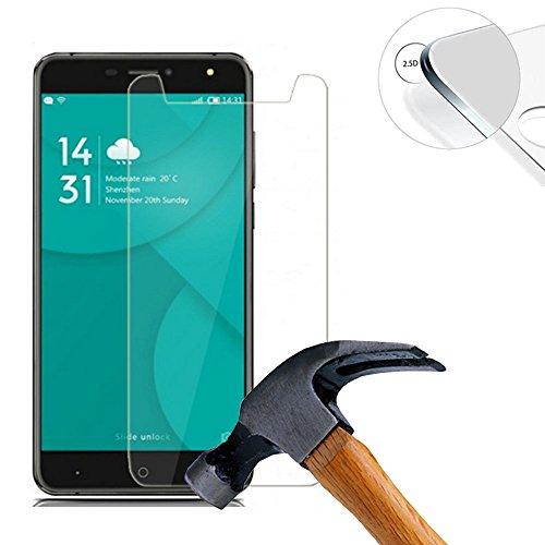 Lusee 2 X Pack Protector de Pantalla Cristal Templado para Doogee X7 / X7 Pro...