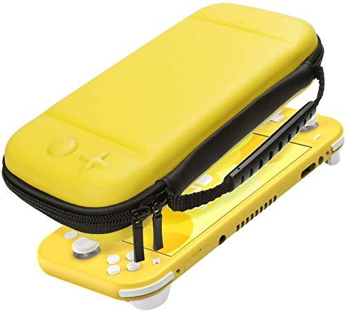Custodia per Nintendo Switch Lite, Custodia Protettiva per Nintendo Switch Lite Console da 8 Giochi Cartucce e Altri Accessori - Giallo
