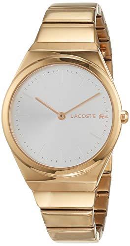 Lacoste Reloj Analógico para Mujer de Cuarzo con Correa en Oro Rosa 2001055