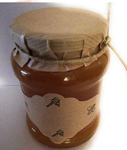 50 Klebeetiketten Kraft für Honigflaschen