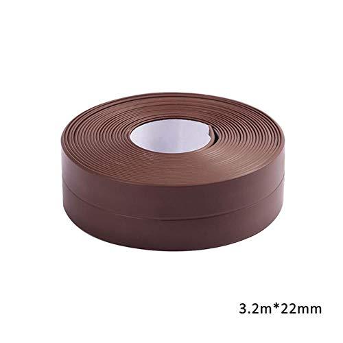 3.2mx38mm Badkamer Douchebak Bad Afdichtstrip Tape Wit PVC Zelfklevende Waterdichte Muursticker voor Badkamer Keuken, 11