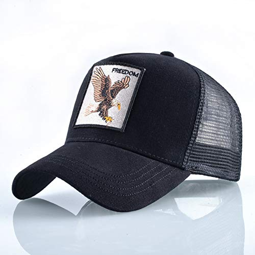 sdssup Eagle Baseball Cap Herren Truck Driver Cap Damen Cap schwarz verstellbar