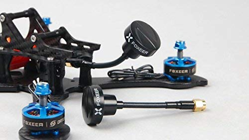 Makerfire Foxeer Antena FPV RP SMA Pagoda Antena 86mm Antena omnidireccional para FPV Racing Drone Multicopter (Negro)