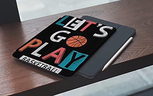 MEMETARO Funda para iPad 10.2 Pulgadas,2019/2020 Modelo, 7ª / 8ª generación,Let 's Go Play Basketball Boy Sport Baloncesto Smart Leather Stand Cover with Auto Wake/Sleep