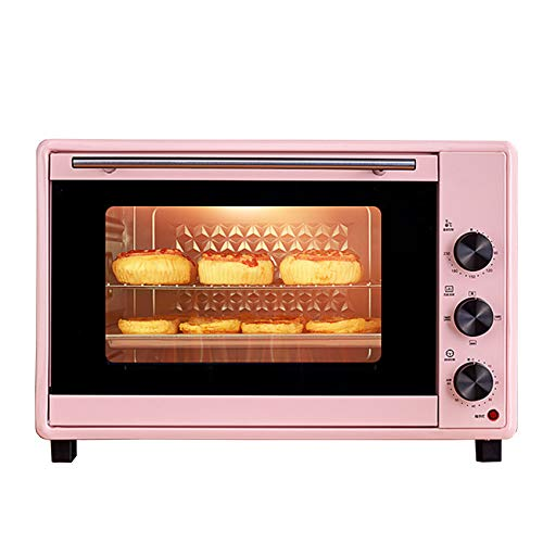 SHUI Mini Ovens 1600W, 40L Toaster Electric Roasters Convection Ovens, With Temperature Setting 90-230℃ And 60 Mins Timer, 10 Cooking Modes