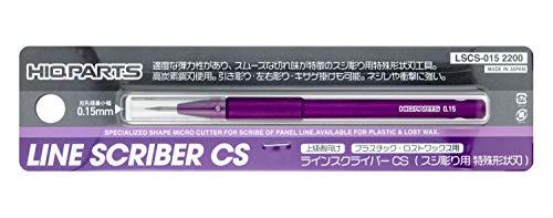 ハイキューパーツ ラインスクレイバーCS 0.15mm 1本入 プラモデル用ツール LSCS-015