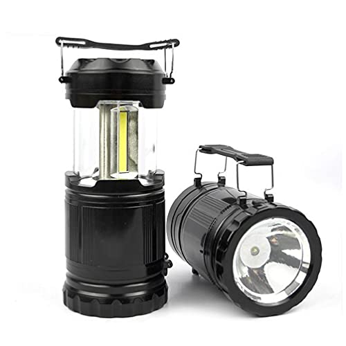 laimoere Campinglaterne Batteriebetrieben, Notbeleuchtung für Zuhause, Abenteuer, Wandern, tragbare Taschenlampen mit 30 LED-Perlen Elektrische Lampen Outdoor Survival Kits
