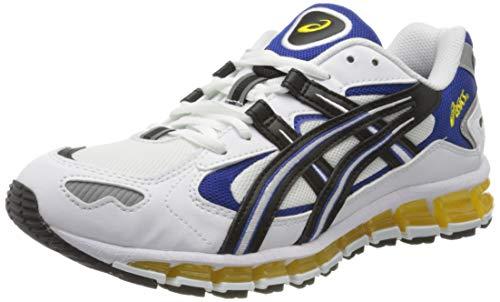 ASICS Gel-Kayano 5 360, Scarpe da Corsa Uomo, White/Black, 42 EU