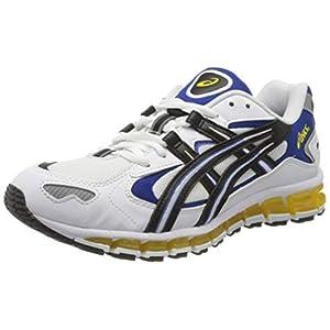 ASICS Tiger Men's Gel-Kayano 5 360 Shoes, 9.5, White/Black