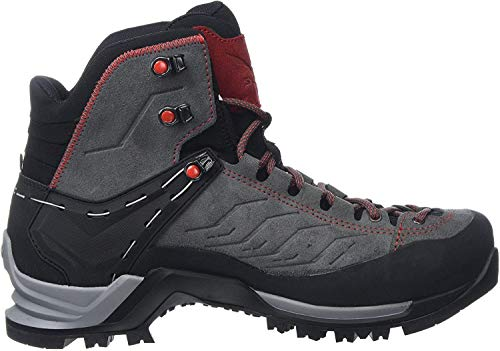 Salewa MS Mountain Trainer Mid Gore-TEX Trekking- & Wanderstiefel, Grau (Charcoal/Papavero 4720), 46 EU